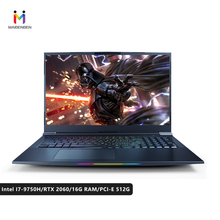 MaiBenBen Barrett 9 for Gaming Laptop Intel i7-9750H+RTX2060 6G Graphics Card/16G RAM/512G/DOS/Win10/17.3