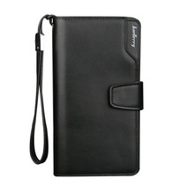 Men Wallet Casual Multifunction Men Clutch Bag Leather Long Section Coin Purse Credit Card Bag Zipper Mobile Phone Bag euramerican wind harry potter coin purses slytherin school of magic coin bag mobile phone bag printing long card package