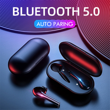 CBAOOO TWS Bluetooth wireless headset 5.0 stereo Hifi Ture sports earbuds with microphone charging box