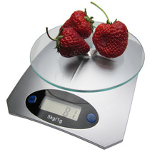 5000g/1g Tempered Glass Electronic Kitchen Digita Scale Household Baking Gram 5kg Jewelry Food Weighing Portable