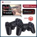 Супер консоль X Stick мини/ТВ видео игровые консоли WIFI HD выход для PSP/N64/DC игр для Xbox геймпад встроенные 50000 + игр