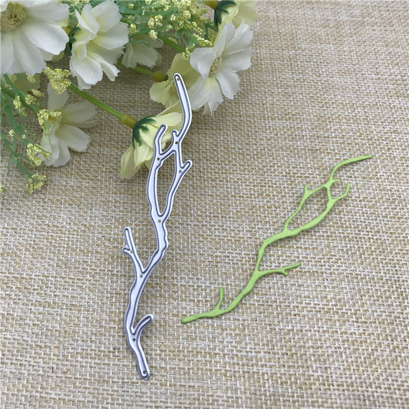 Branch Strip Metal Cutting Dies Stencils For DIY Scrapbooking Decorative Embossing Handcraft Die Cutting Template