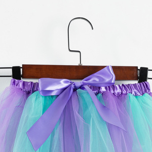 Image 3 - フリーヘッドバンド女の子スカートミニマーメイドチュチュパーティープリンセスチュチュドレスふわふわ誕生日子供服 2 7 年の女の子服