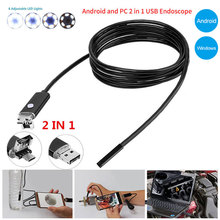 10m 7mm Laboratory Underwater Observation with Side Audition Borescope Cable Education Surveying Pipes Endoscope audition