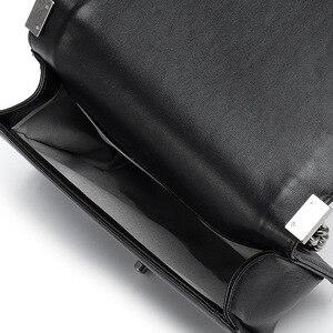 Image 5 - Klassieke Diamant Rooster Vrouwen Keten Tas Merk Luxe Lederen Schoudertas Schapenleer Lady Crossbody Messenger Bag