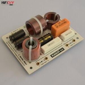 Image 3 - HIFIDIY L 480C en vivo de 3 vías, 4 altavoces, tweeter + mid + 2 * bass, HiFi, divisor de frecuencia de audio, filtros cruzados