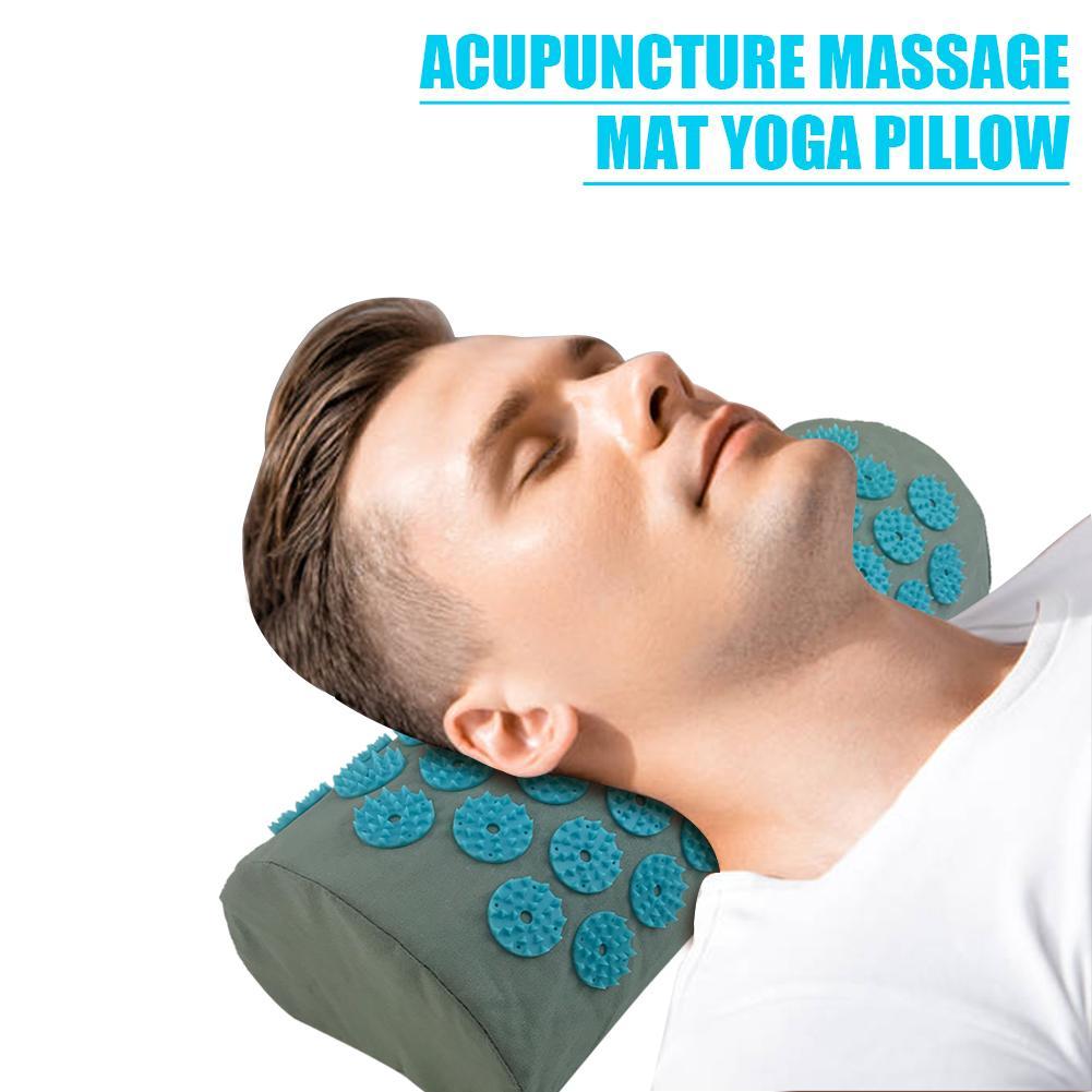 Akupunktur Massager Kissen Entlasten Körper Schmerzen Stress Akupressur Kissen Körper Massage Baumwolle Kissen Massageador