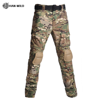 Military Uniform  Tactical Combat Shirt Us Army Clothing Tatico Tops Airsoft Multicam Camouflage Hunting FishingPants Elbow/Knee 17
