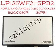 LP125WF2 SPB2 00HN899 00HM745 for Lenovo FRU 12.5 FHD 1920x1080 IPS Display for lg