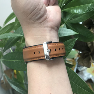 Image 5 - Watch Strap for Huawei Watch GT 2 46mm Genuine leather Silicone Watch Bands For huawei Honor Watch Magic 2 Bracelet