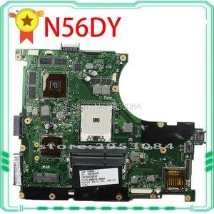 For Asus N56D Laptop motherboard N56DY N56D N56DR REV2.0 mainboard 60-NQOM1002- C03