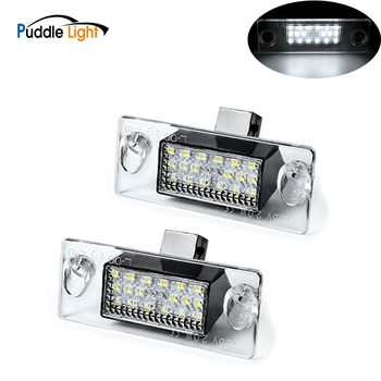 2x Car Led Number License Plate Light Lamp Canbus Error Free For Audi A4 B5 96-01 8l S5 B5 A3/S3/Sportback 97-03 A4/S4 Avant цена 2017