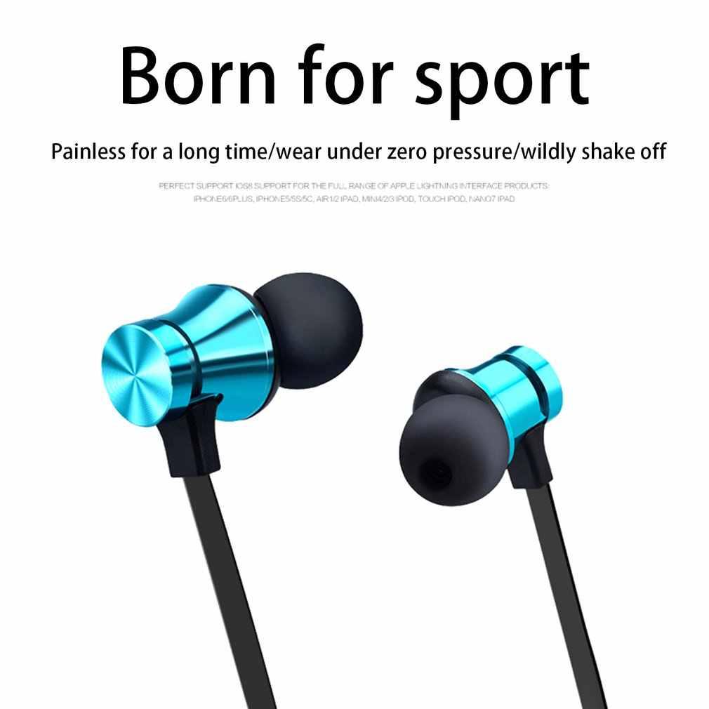 磁気ワイヤレスbluetoothイヤホンXT11 音楽ヘッドセット電話ネックバンドスポーツイヤフォンイヤホンとiphoneサムスンxiaomiのmic