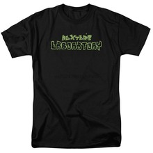 Dexters Laboratory DEXTERS LOGO Adult T-Shirt All Sizes(China)