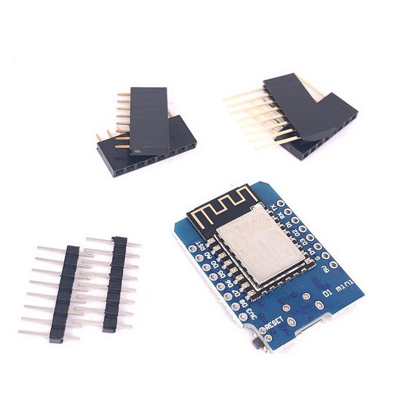 ESP8266 ESP-12 CH340G CH340 V2 USB WeMos D1 Mini WIFI макетная плата D1 Mini NodeMCU Lua IOT плата 3,3 В с контактами