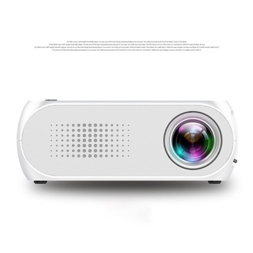 Professional YG320 LED Video Digital Home Theater Portable Smart 1080P Movie Projector for Home Theatre US Socket