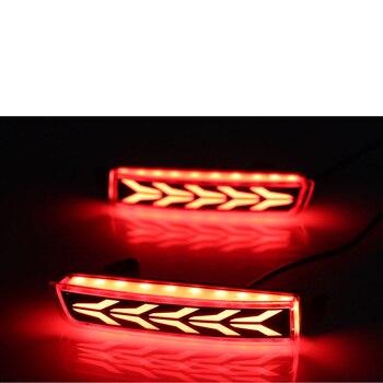 Hot 2x Rear Bumper Reflector Tail Brake Light For Nissan Juke Murano Quest Infiniti FX35 FX50 Bluebird SYLPHY Kicks Nissan Terra