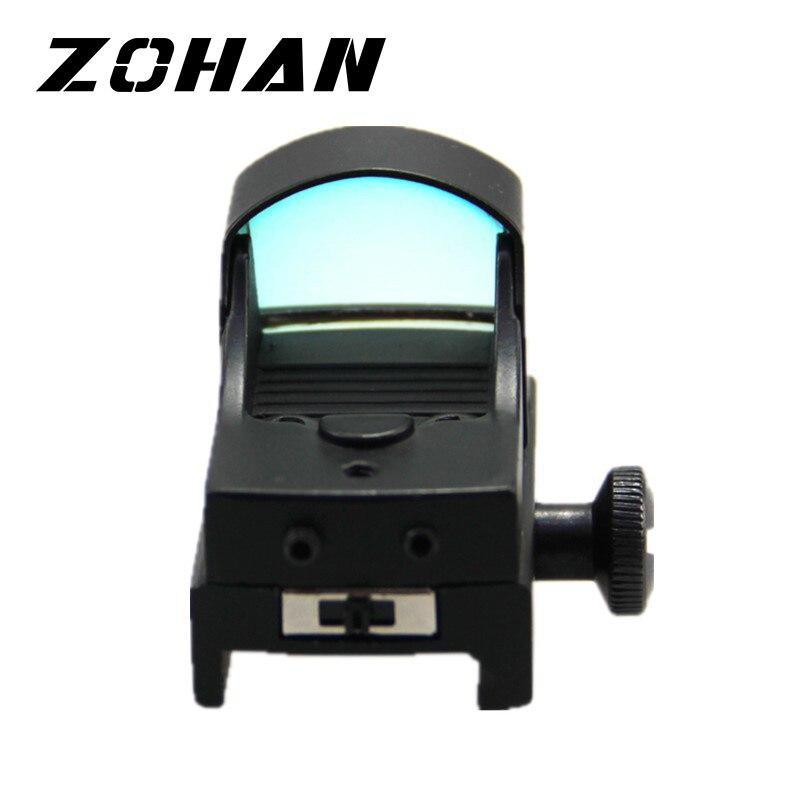 Mini Size Red Dot Tactical Reflex Sight Red Dot & Laser Sight Compact Dot Sight Gratis Verzending Rail Mount For A sight Scope