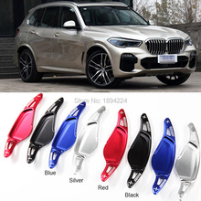 купить 2pcs High Quality Aluminum Car Steering Wheel Shift Paddle Shifter Extension For BMW X5 2019 дешево