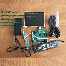 6 Polegada TFT LCD RGB Módulo Display LCD Tela Do Monitor Kit para carro Digital TKUN exibição bordo Motorista LCD visual Global livre posta