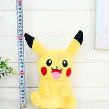 20 Cm Pikachued Eevee Go Pluche Soft Toy Knuffeldier Knuffels Doll Kids Gift(China)