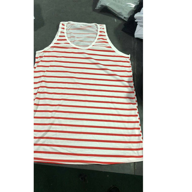 Men's Tank Tops Summer Striped marine Sleeveless Large size Vests Beach Training Gym gym tank top men Tank Top тельняшка 10