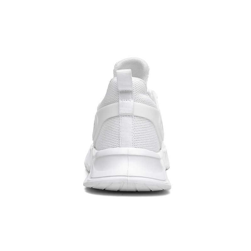 2020 Platform Pria Olahraga Sepatu Lampu Bernapas Mesh Pisau Shock Sepatu Putih Hitam Abu-abu Pria Pelatih Tenis Masculino