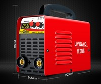 200V electric welding machine portable digital display inverter plastic welding machine welding equipment