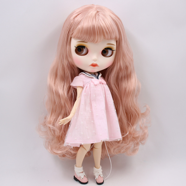 Fiona – Premium Custom Blythe Doll with Full Outfit Pouty Face