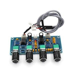 Image 4 - Para amplificadores digitais placa ne5532 tone board preamp pré amp com baixo agudos ajuste de volume pré amplificador tom controlador
