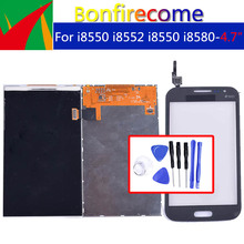 Qualità originale Per Samsung Galaxy Win i8550 i8552 GT i8550 i8580 LCD Display Con Touch Screen Digitizer Pannello Del Sensore
