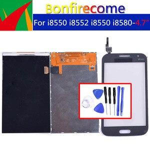 Image 1 - Qualità originale Per Samsung Galaxy Win i8550 i8552 GT i8550 i8580 LCD Display Con Touch Screen Digitizer Pannello Del Sensore
