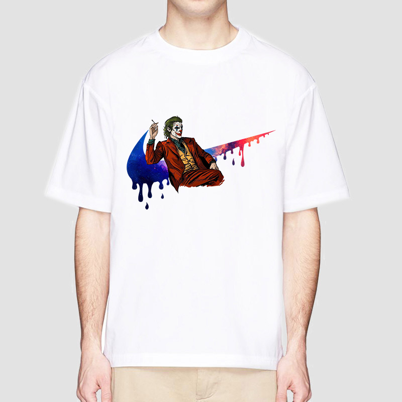 Joker Joaquin Phoenix Harajuku T Shirt men Horror T-shirt Are You Smell Right Now Funny Cartoon Tshirt Fanshion Top Tee Female