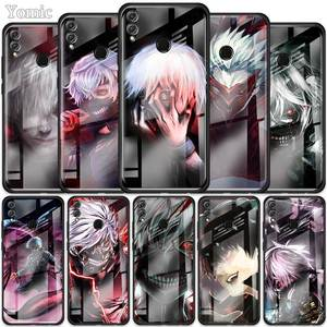 Tokyo Ghoul аниме чехол для Huawei Honor 10X 5G 9X 8X View 30 Pro Plus 20 10 Lite Y6 Y7 Y9 Prime 2019 чехол из закаленного стекла для телефона