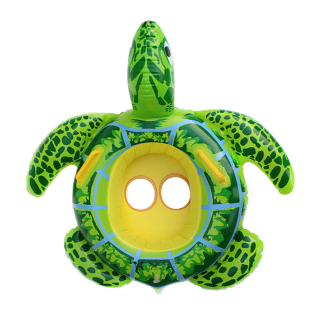 Inflatable Swimming Ring Pool Float Kid Waist Float Ring Cute Toy for Baby Children Turtle Circle wimming Swim Ring Pool