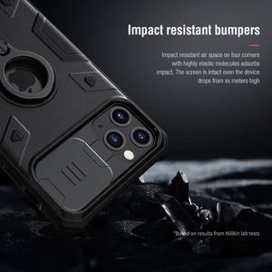 Image 4 - IPhone 11 durumda Nillkin CamShield zırh kapak iPhone 11 чехол kamera koruma