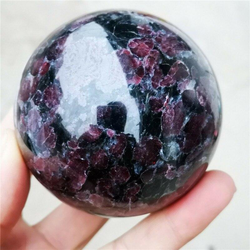60 65mm Rare beautiful garnet ball crystal ball mineral healing hot