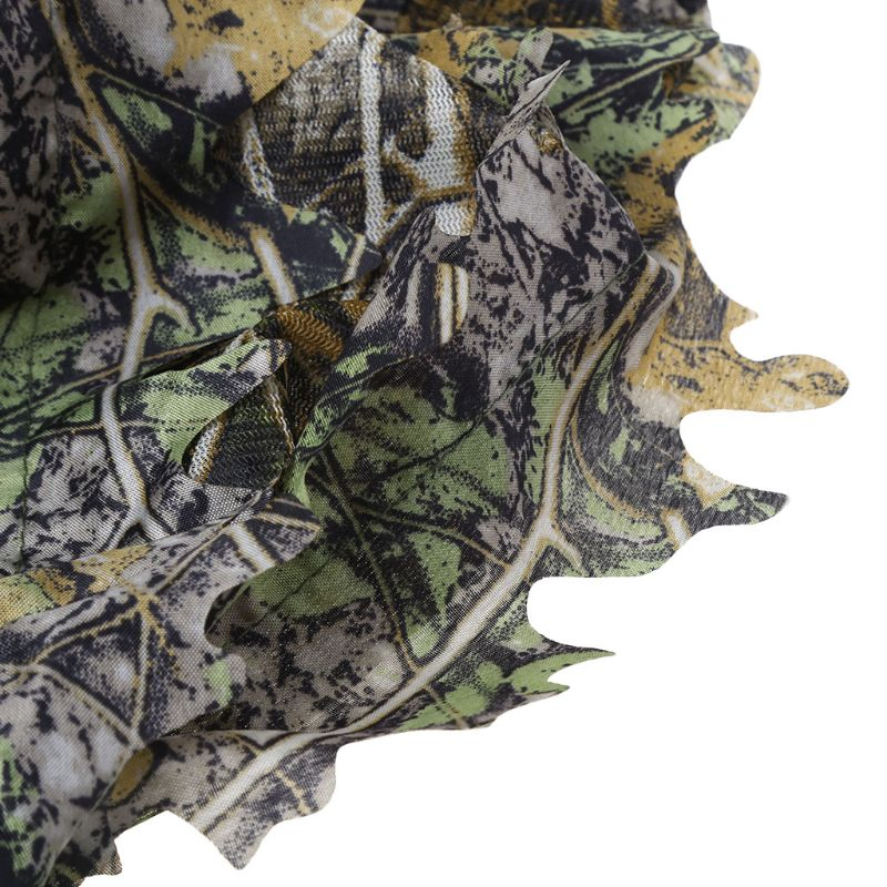 1 Set Hunting Clothes 3D Leaf Coat Trousers Camouflage Outdoor Jungle Watch Bird