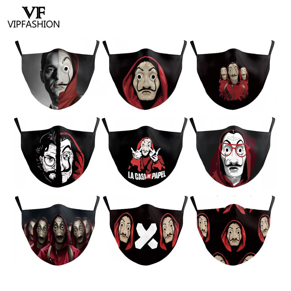 VIP FASHION Adult 3D Reusable Mouth Mask Washable Protective PM.25 Anti-dust Windproof Mouth-muffle Bacteria Proof Anti Flu Mask
