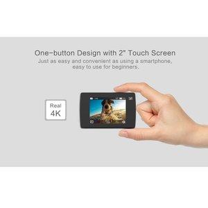 Image 4 - YI Lite экшн камера Sports 16MP настоящий 4K со встроенным WI FI 2 дюймов ЖК дисплей Экран 150 градусов Широкий формат линзы черного цвета