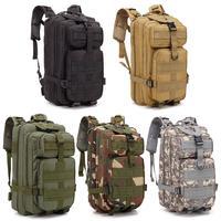Mochila de asalto táctica militar 1000D 30L, bolsa impermeable del ejército para exteriores, senderismo, Camping, caza