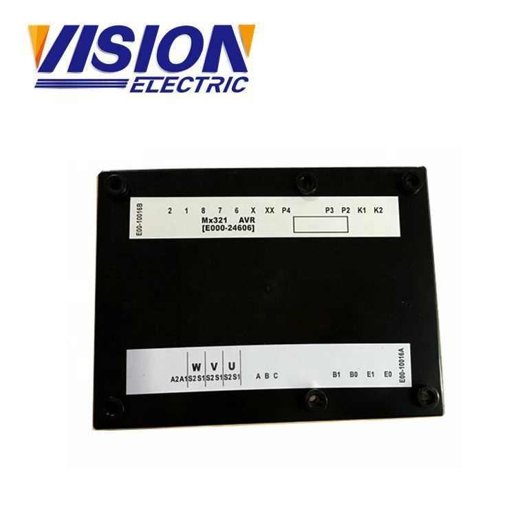 Generator Avr Circuit Diagram MX321 Met Parallelhouder Functie