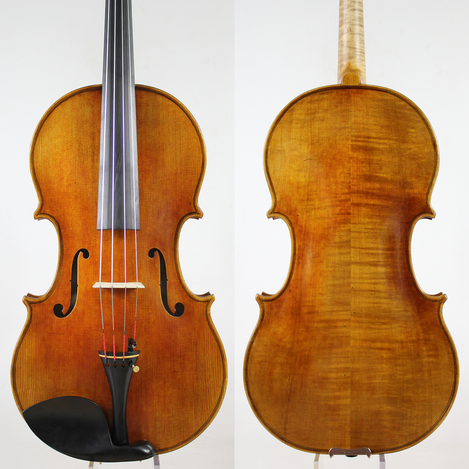Antique Varnish! Andrea Amati Viola 16 inch Best performance !All European Wood,Free Shipping! image