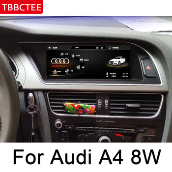 For Audi A4 8W 2013~2016 MMI Car Android Multimedia Player Touch Screen Stereo Display navigation Map GPS Audio Radio Media