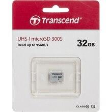 Карта памяти microSDHC UHS-I U1 TRANSCEND 32 ГБ, 95 МБ/с, Class 10, TS32GUSD300S, 1 шт.