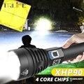 Самый мощный светодиодный светильник XHP90  USB масштабируемый фонарь с 3 режимами работы  перезаряжаемая батарея 18650 26650 для кемпинга