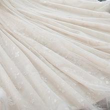 Nowa 2020 2021 biała suknia ślubna tanie tanio ECTIC Boat neck Trzy czwarte Organza Sweep brush pociąg CN (pochodzenie) Powyżej kolana Mini Backless Suknie ślubne