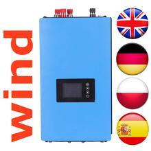 Инвертор для ветряной электросети 1000 Вт с ограничительным датчиком/регулятором нагрузки на свалку/резистором для ветряной турбины 3 фазы 24 в 48 в
