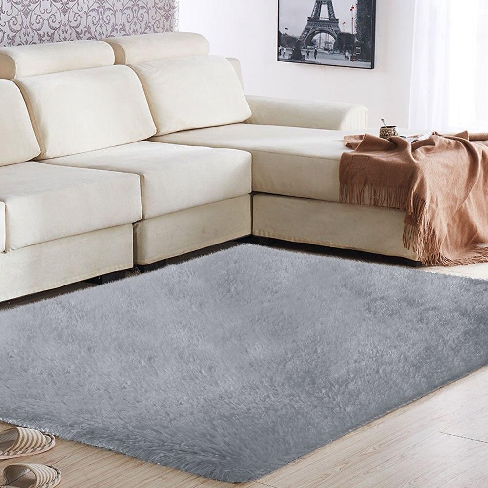 Polyester Fiber tapis de zone canapé salle à manger tapis sol moelleux tapis multicolore 160x230cm anti-dérapant tapis sol décoration de la maison