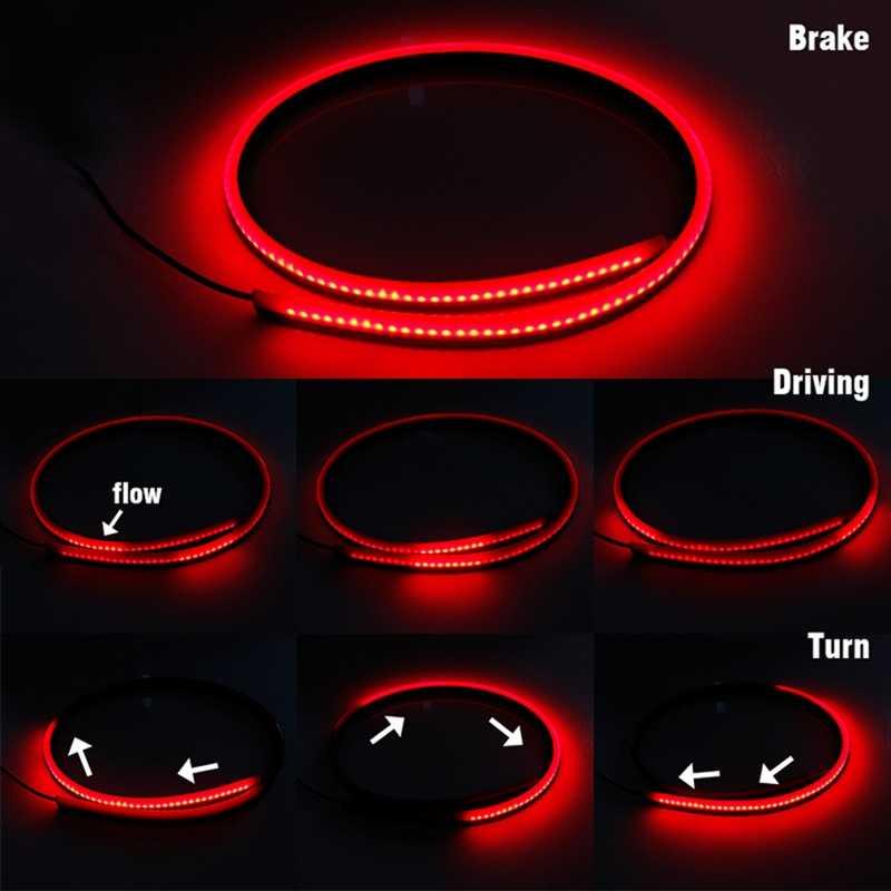 سيارة ضوء الفرامل LED مع القيادة بدوره تحذير وقف ل دودج رام 1500 2500 رحلة عيار شاحن تشالنجر نيترو دورانجو